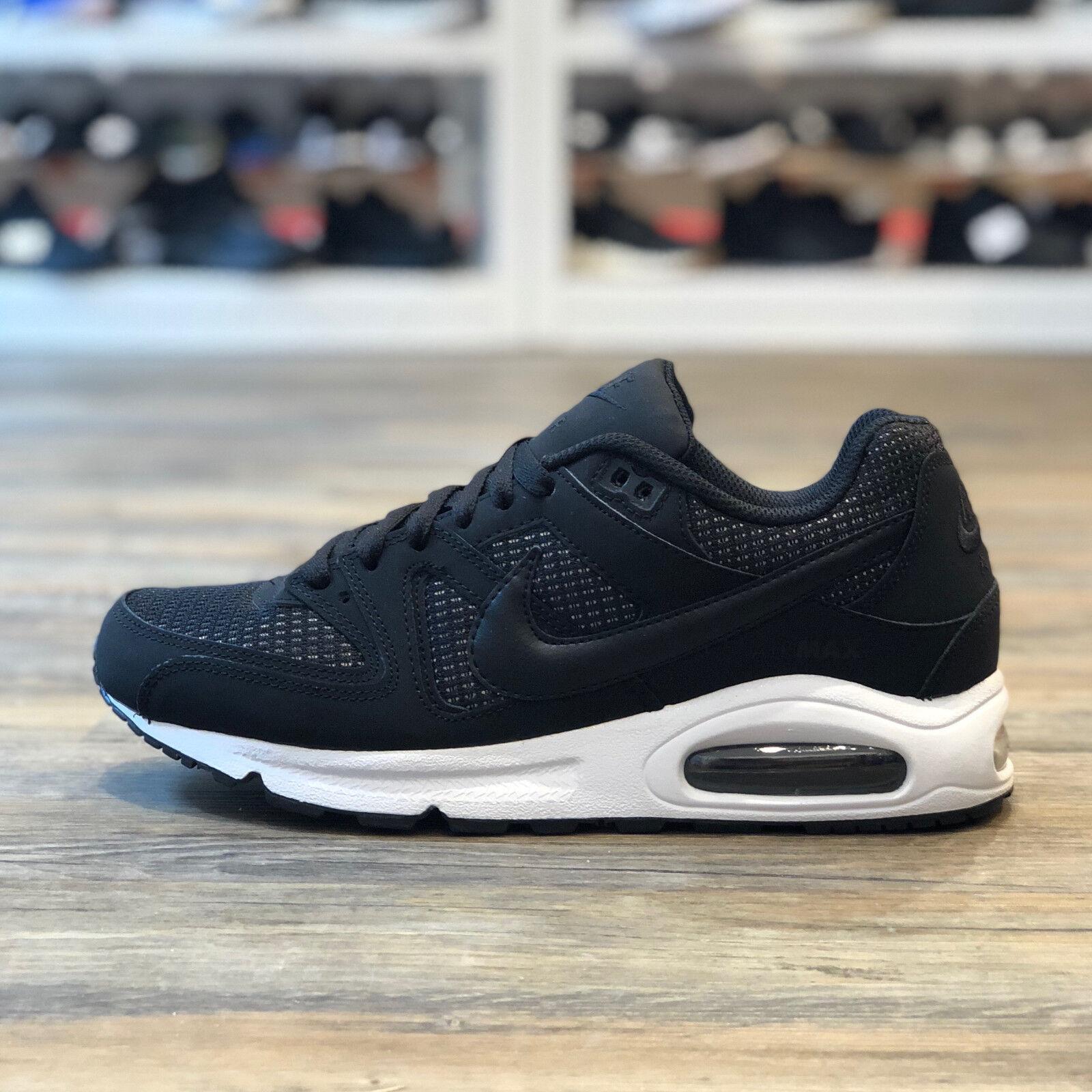 Gr 43 Schuhe Max Sneaker weiß Nike Air Command schwarz shoes