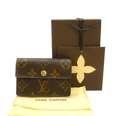 Auth LOUIS VUITTON Porte Monnaie Accordeon Coin Purse Monogram M58007 #S312020