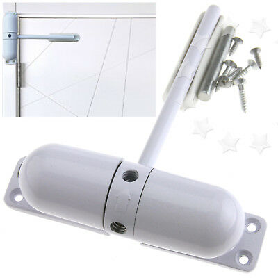 Auto Closing Surface Mounted Door Closer Adjustable Fire Rated Spring Loaded