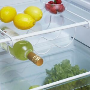 Universal Fridge Freezer Space Saver Under Shelf Bottle & Wine Rack Holder