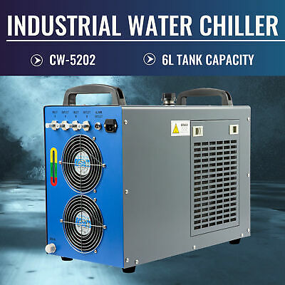Industrial Water Chiller Cw-5202 Thermolysis Device For Co2 Laser Engraver Tool