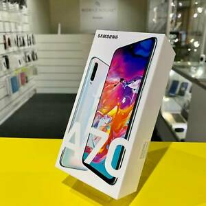 Samsung Galaxy A70 White 128G Brand New Sealed Box/Samsung Warranty