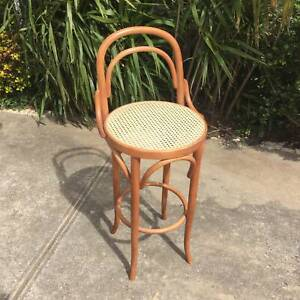1X rattan bar stool/kitchen stool, Bentwood bar stool WE CAN DELIVER