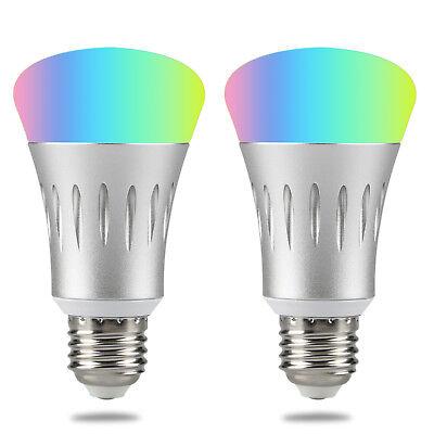 Wifi Led light bulb 7W E27 Wireless WiFi Remote Control Smart Bulb Lamp Light