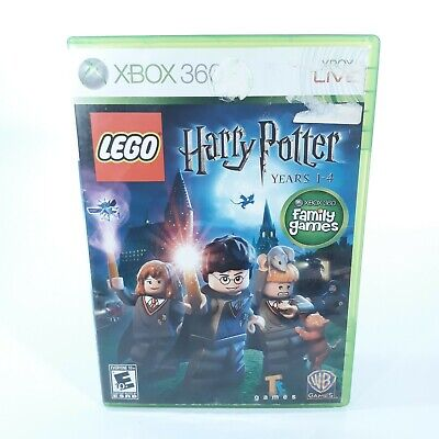LEGO Harry Potter: Years 1-4 (Microsoft Xbox 360, 2010) Complete Tested
