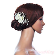 Ivory Wedding Hair Flower