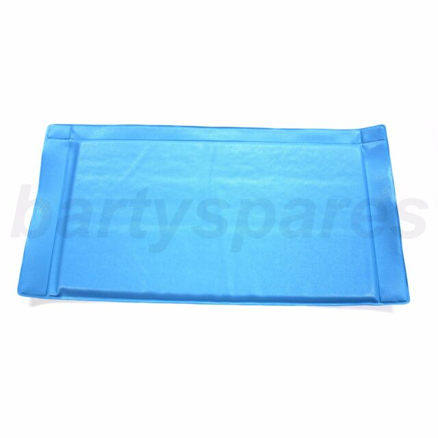 Blue Anti-Frost Fridge Freezer Mat Ice Defrost Defense Easy Clean Pad 47 x 24cm