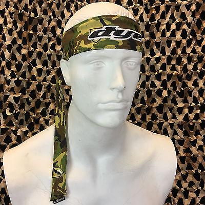 - NEW Dye Paintball Headband Protective Tying Head Band - Commando Camo