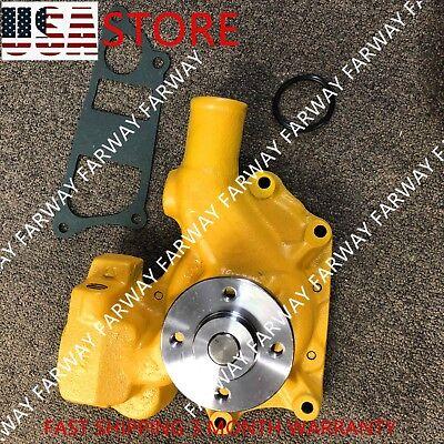 6204-61-1204 Water Pump For Komatsu Pc60-5 Pc60-6 Pc60-7 Pc75uu 4d95 4 Hose