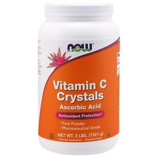 NOW Foods Vitamin C Crystals, 2250 mg, 3 lbs.
