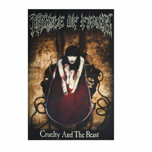 Cradle Of Filth Cruelty And The Beast Tapestry Fabric Cloth Poster Banner