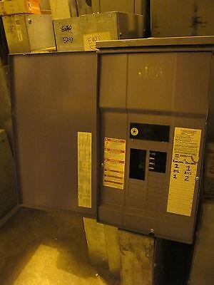Square D 200 Amp Main Breaker 1 Phase Nema 3r Load Center - E719