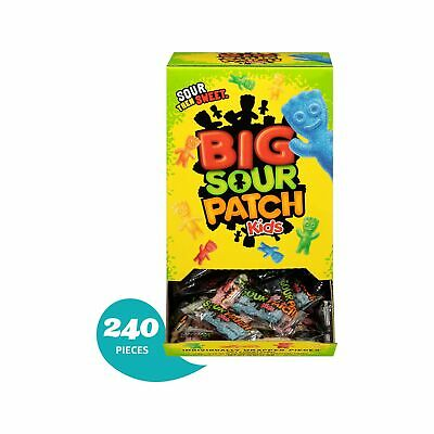 Sour Patch 240 Count Bulk Kids Sweet and Sour Halloween Candy, Trick or Treat... - Sour Patch Halloween Candy