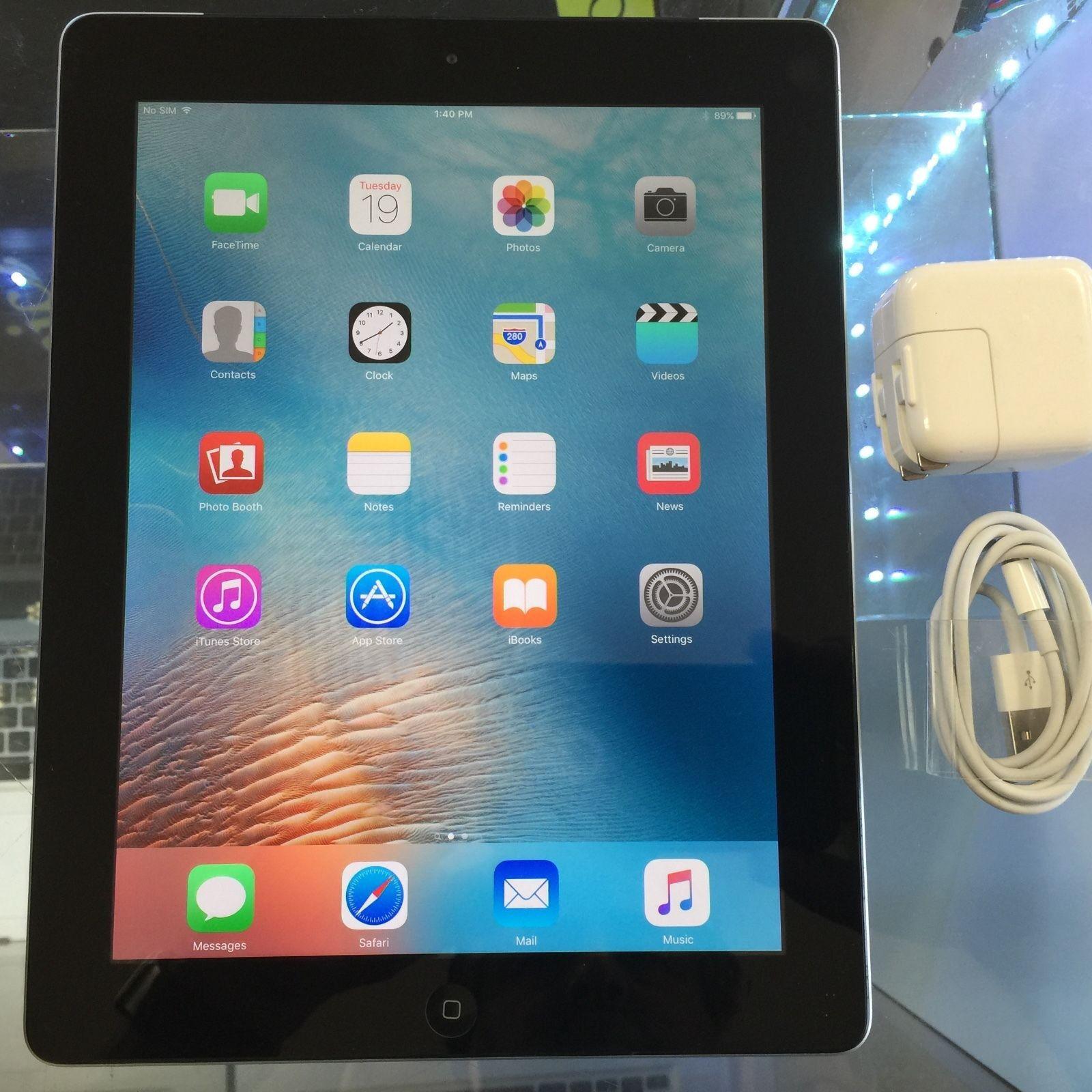 Apple iPad 4 4th Generation 16GB | Wi-Fi | 9.7 inches - Black
