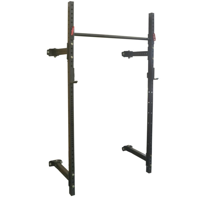 """TItan T-3 Series Short Folding Power Rack 21.5"""" Depth for Pull-ups, Squats, and"""