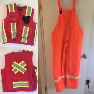 Safety Vest & Overall