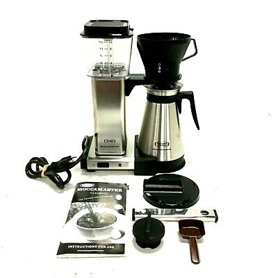 Moccamaster Coffee Maker Brewer Thermal Carafe 10 Cup Model 59691 10 Cup Coffee Carafe