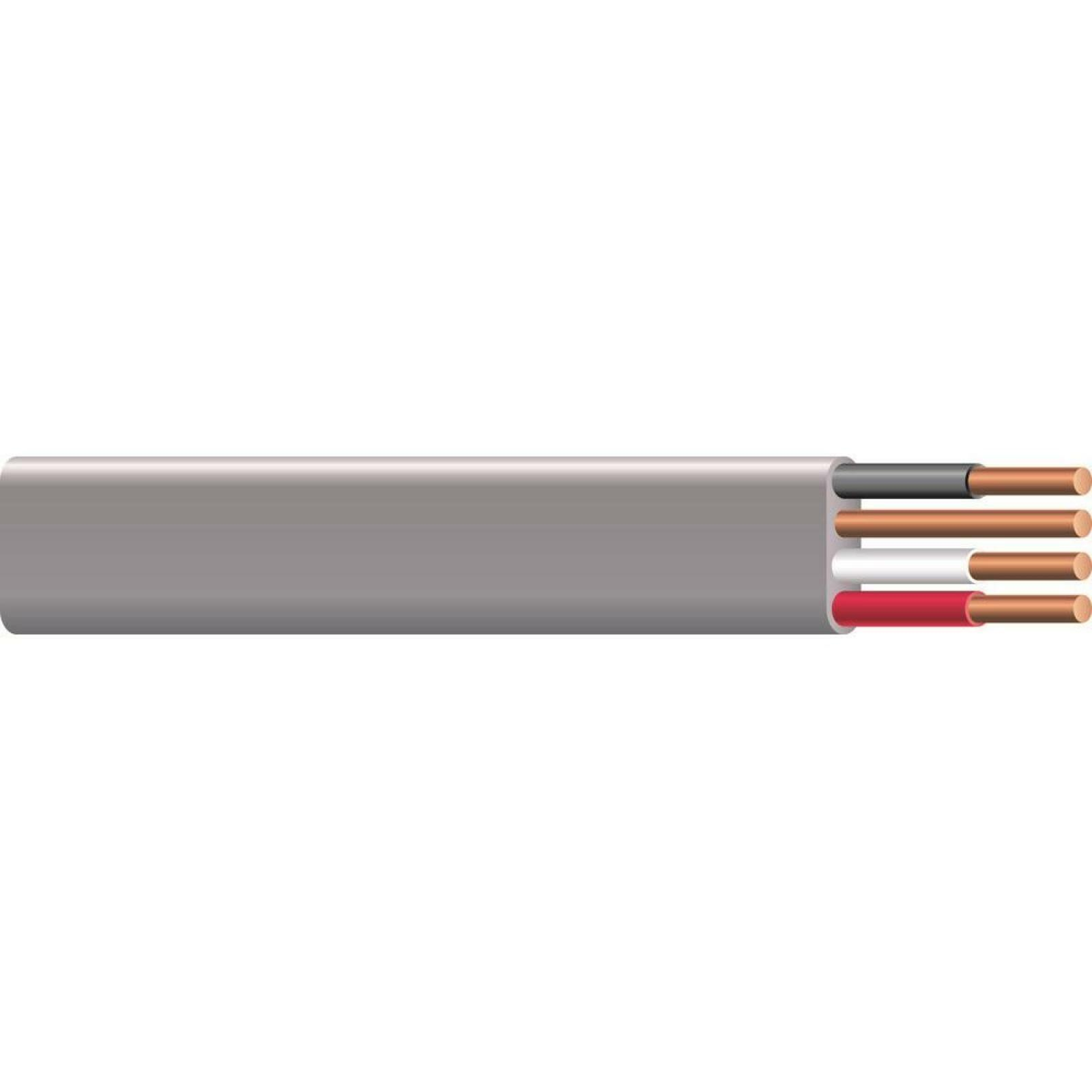 50 FEt 8/3 Gray Stranded Cu Uf B W/G Wire Outdoor Electrical Low Voltage Cable - $78.55