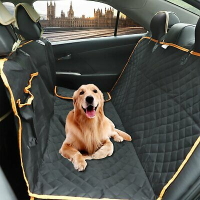 Waterproof Dog Car Seat Cover Hammock for Cat Pet SUV Van Back Rear Bench Pad Padded Pet Cover