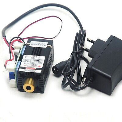 High Power 520nm 100mw Green Dot Diode Focusable Laser Module Driver 12v Adapter