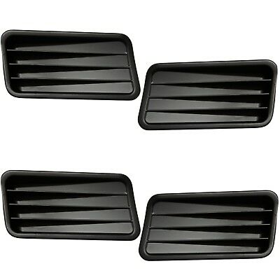 Mustang Quarter Panel Ornaments - 1967 Mustang Quarter Panel Ornaments Left & Right 4 Pieces Set - M3514A