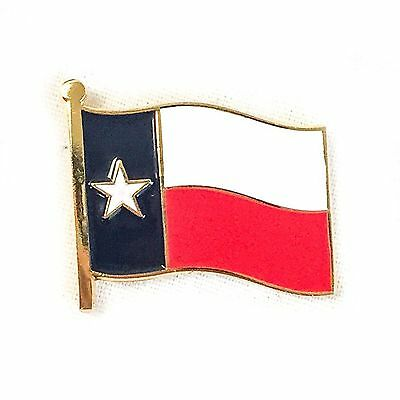 State of Texas Flag Lapel Hat Pin Texas State Flag Pin USA SHIPPER
