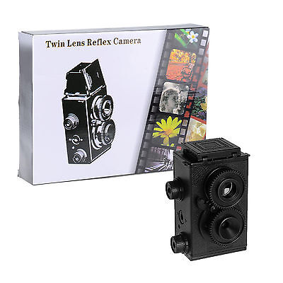 (35mm Twin Lens Reflex Camera TLR Holga Lomo DIY Kit Retro Classic Film Photo)