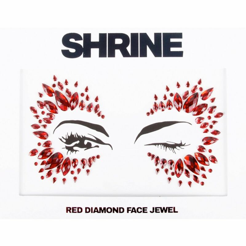 Shrine+-+Individual+Self+Adhesive+Face+Jewel+-+Red+Diamond+