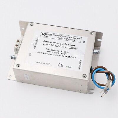 Rasmi 3G3MV PFI 1020-E Single Phase RFI Filter
