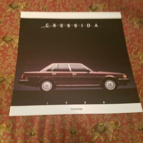 1988 Toyota Cressida Brochure