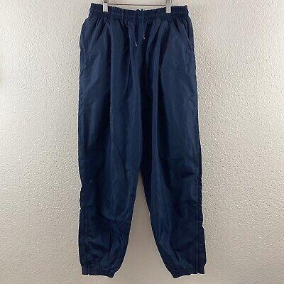 Vintage Vtg 90's Nike Sz L White Tag Check Windbreaker Nylon Jogger Track Pants