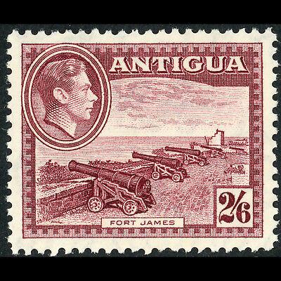 ANTIGUA 1938-51 2s 6d Fort James. SG 106a*. Mint Never Hinged. (AF165)