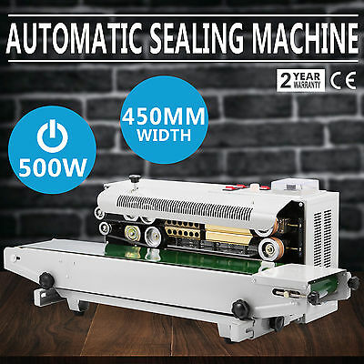 FR900 AUTOMATIC HORIZONTAL CONTINUOUS PLASTIC BAG BAND SEALING SEALER MACHINE