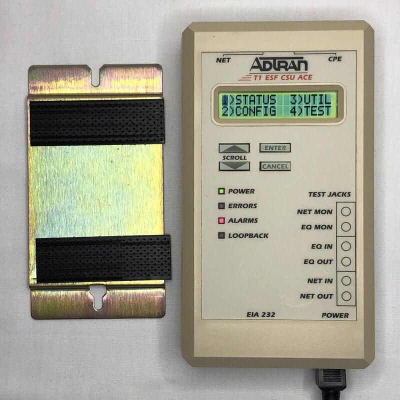 Adtran 1203.025L1 T1 ESF CSU ACE 3rd Gen 1203025L1 EIA 232 Lightly Used
