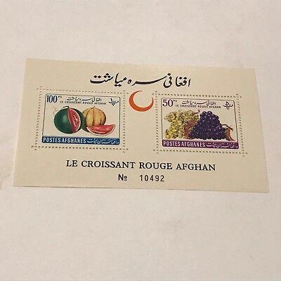 Afganistan #528&529 SS  unused NH  Lot 4006