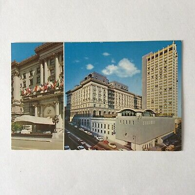Fairmont Hotel and Tower Atop Nob Hill San Francisco Unposted Postcard  for sale  Gatineau