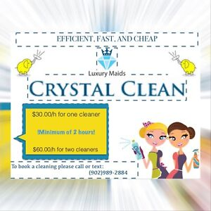 Crystal cleaners Cleaning service