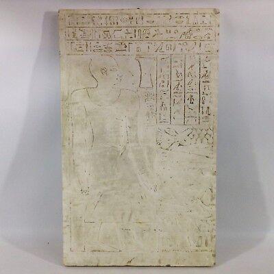 Ägypten Relief alter Gipsabguss Museum Plakette Gipsoteca Formensammlung Kunst