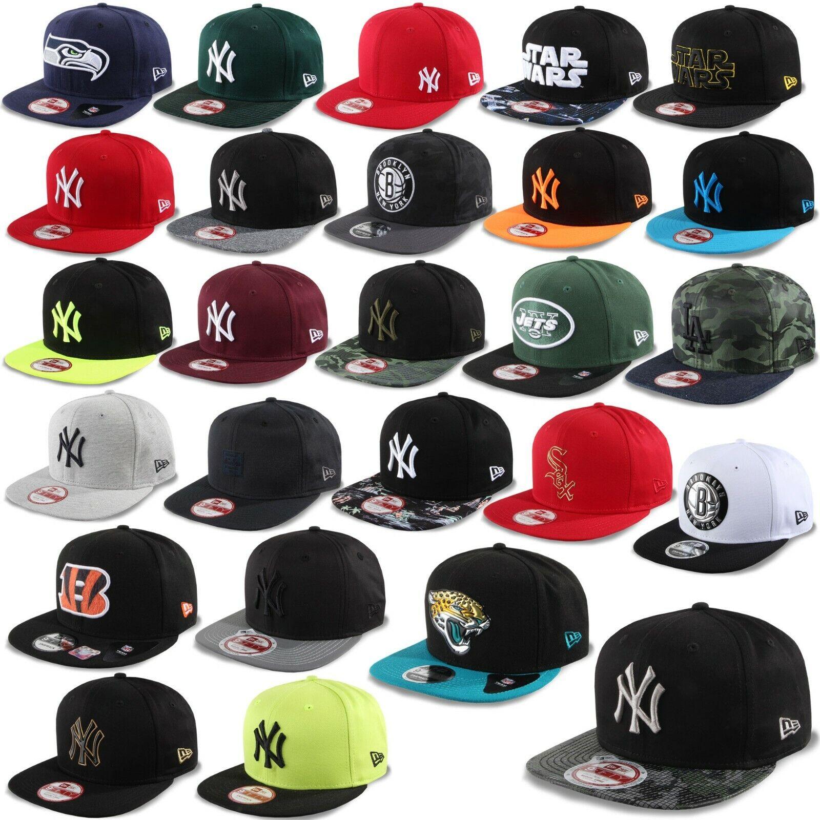 New Era Cap Snapback 9Fifty New York Yankees Seahawks Star Wars Brooklyn Nets #K