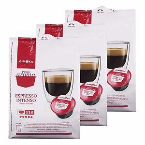 32 Cialde Capsule Caffe Gimoka Nescafè Compatible Dolce Gusto Intenso - Italia - 32 Cialde Capsule Caffe Gimoka Nescafè Compatible Dolce Gusto Intenso - Italia