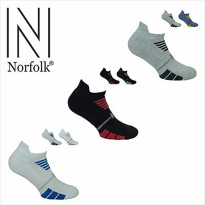 Norfolk Men's 2PK Multi Sport Basic Cotton Low Cut Sock Style: LUKE 2pk Cotton Sock