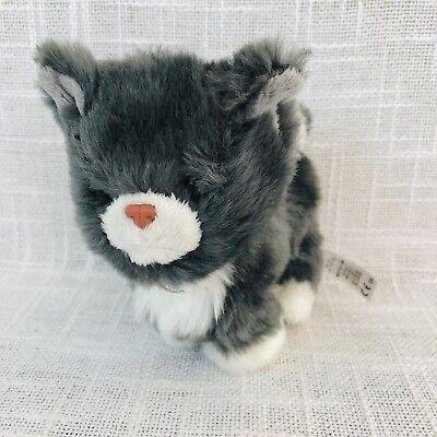 "American Girl Cat Himalayan Gray Grey Pet Kitten Cat Plush 5"" AG For Doll Toy"