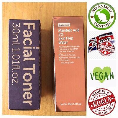 KLAIRS Supple Preparation Facial Toner & WISHTREND Mandelic Acid 5%- 30ml Set UK