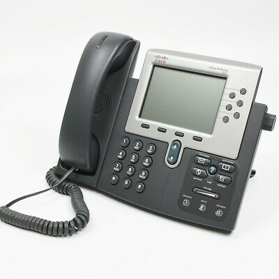Cisco Cp-7961g Unified Ip Phone W Handset And Stand