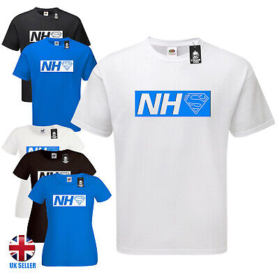 NHS Heroes T Shirt Super Hero raise money rainbow stay home safe wash your hands