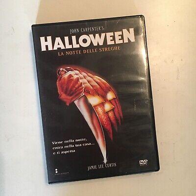 HALLOWEEN LA NOTTE DELLE STREGHE RARO DVD ITALIA CARPENTER - - Streghe Halloween