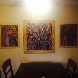 Woods paintings