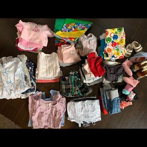Baby girl clothes 3-6 months (over 50 items plus accessories)