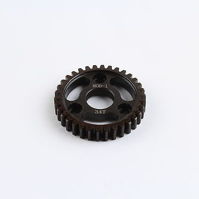 34T Mod1 Hardened Steel Spur Gear Quantity=1 PC