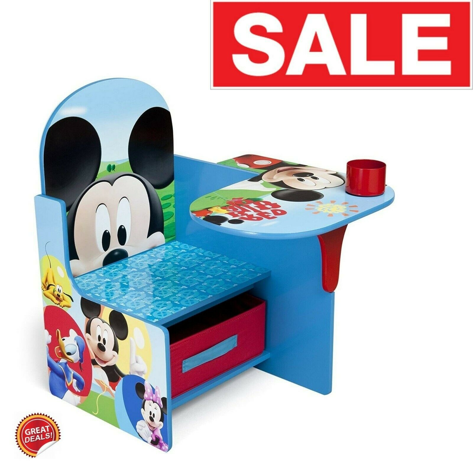 Chair And Table For Kids Kid Activity Toddler Art Play Woode